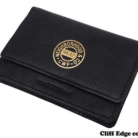 NEIGHBORHOOD - NEIGHBORHOODRUSSEL/CL-CARDCASE[カードケース]BLACK274-000680-011-【新品】【smtb-TD】【yokohama】