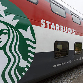 Switzerland - Starbucks on a Train with SBB