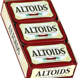 ALTOIDAS - CINNAMON STRONG MINTS