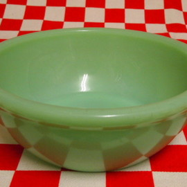 Fire King - Jadeite Restaurantware G300 15-oz Bowl