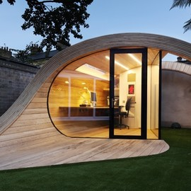 Shoffice (shed + office)