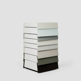 established & sons - stack gray 8-drawers