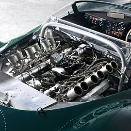 Jaguar XJ13 engine(1966)Only one of these was made, absolute work of art.