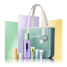 CLINIQUE - 3step Starters Set (Skintype 2, Clarifying Lotion 2)(2012.8)
