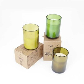 MUNIO CANDELA - RECYCLE WINE BOTLLE SOYWAX CANDLE
