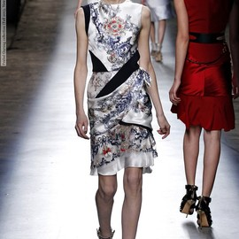 Prabal Gurung - Baroque Print Dress
