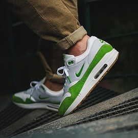 NIKE, theoze - Air Max 1 Jewel - Chlorophyl Custom