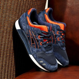 asics - Gel Lyte III - Navy/Orange/White