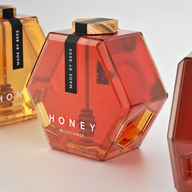 Brand creative mind - Hexagone honey
