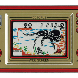 "Nintendo - GAME & WATCH ""OCTOPUS"""