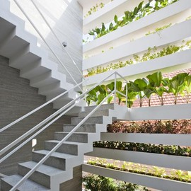 Vo Trong Nghia Architects - Private House, Vertical garden, Vietnam