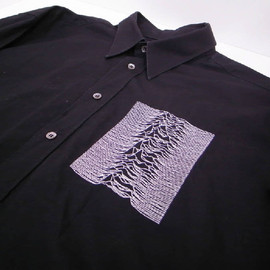 RAF SIMONS - shirt with unknown pleasures