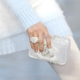 CHANEL - ice-cube clutch bag / Chanel Fall 2010