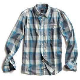 todd snyder - grey plaid shirt
