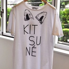 Kitsune Tee×New Era Parisien