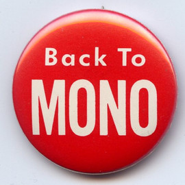 """Phil Spector """"Back To Mono"""" Badge"""