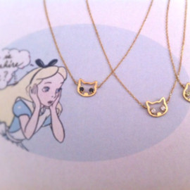 Tiny - Kitten Necklace