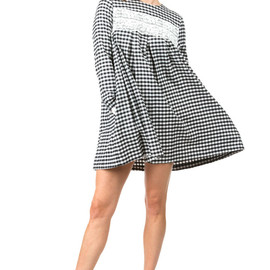 CHLOE SEVIGNY FOR OPENING CEREMONY - Gingham Lace Dress