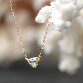SOURCE - Fancy Rosecut Diamond Necklace