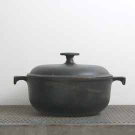 Enzo Mari-1970s - Vintage Cast Iron Le Creuset French  Oven