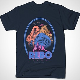 Max Rebo Band  - BustedTees