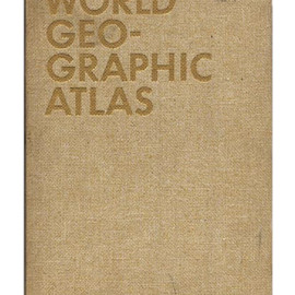 Herbert Bayer - WORLD GEOGRAPHIC ATLAS  A Composite of Mans Environment