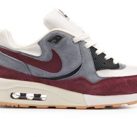 NIKE, Size? - Air Max Light Size? Exclusive - White/Grey/Wine Red (Fall 2012)