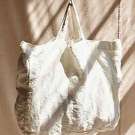 Urban Outfitters - Urban Renewal Remade Linen Tote Bag (White)