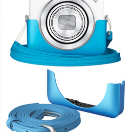 Canon - PowerShot N (Aqua blue set)