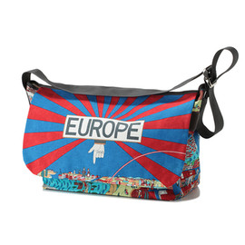BOHEMIANS - Messenger Bag Euro Map