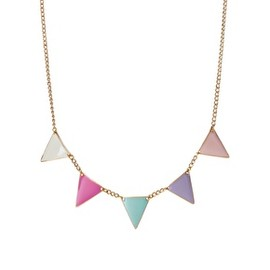 ASOS - Pastel Bunting Necklace