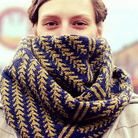 Pine Bough Cowl