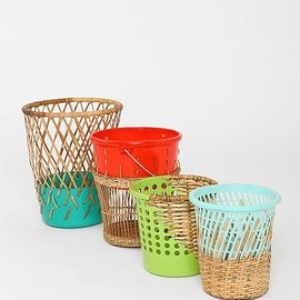urban outfitters - Woven Contrast Top Trash Can