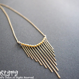 Ostara - Necklace, 14KGF Chain Chevron