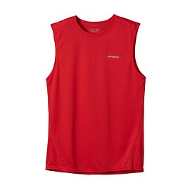 patagonia - PATAGONIA MEN'S FORE RUNNER SLEEVELESS French Red(FRR)