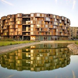 Orestad just outside of Copenhagen - Tietgenkollegiet Dorm