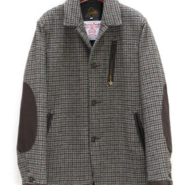 Needles - Arrow Jacket-Harris Tweed/Houndtooth