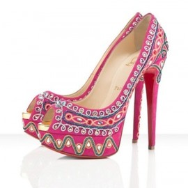 Christian Louboutin - 【'12Spring-Summer】Christian Louboutin BOLLYWOODY  in Hot pink 1