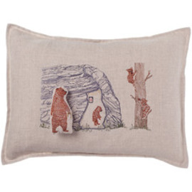 Coral&Tusk  - bear cave pocket pillow