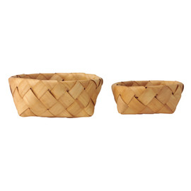 IDEE - Woody Round Basket Set