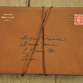 dunhill - mailing envelope notebook