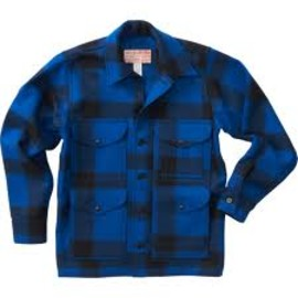 FILSON - mackinaw cruiser single jacket blue/black