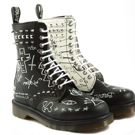 Dr.Martens - CORE APPLIQUE MAYCHILD LACE LOW BOOT
