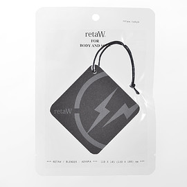 retaW, fragment design - Fragrance Car Tag FRGMT* black