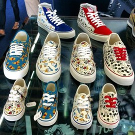 Vans Vault - DISNEY × VANS VAULT SNEAKER COLLECTION 2013 FALL