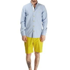 MARC BY MARC JACOBS - OXFORD SHIRT AND TWILL SHORT