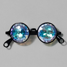Whitney Museum - Round Prism Glasses
