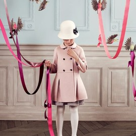 Baby Dior - BABY DIOR AW2013  girl's coart