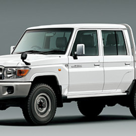 TOYOTA - LandCruiser 70 Double Cab Truck