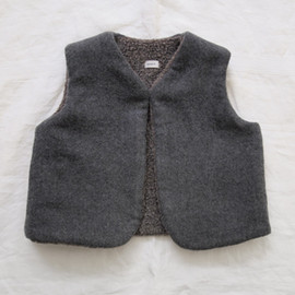 MAKIE - Teddy Vest - Gray